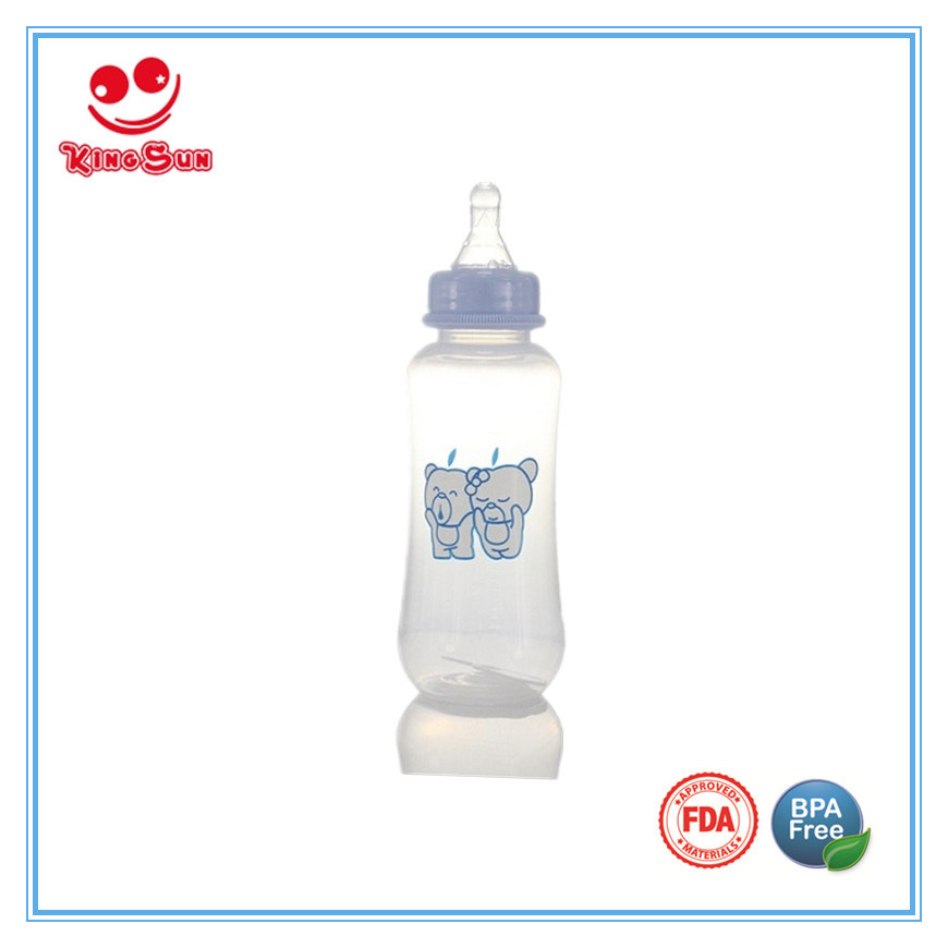 Normal Neck BPA Free PP Baby Bottles in 2oz/4oz/8oz
