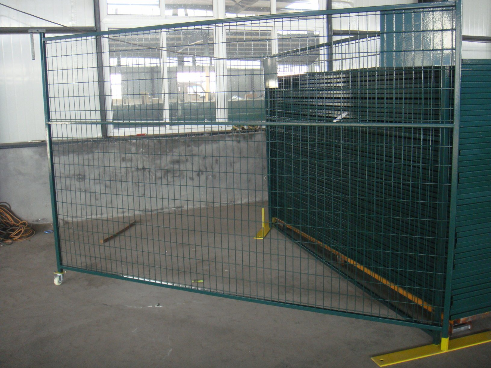 Temporary Security Construction Fence Panels 6foot X 10foot Outdoor Temp Fence Panels