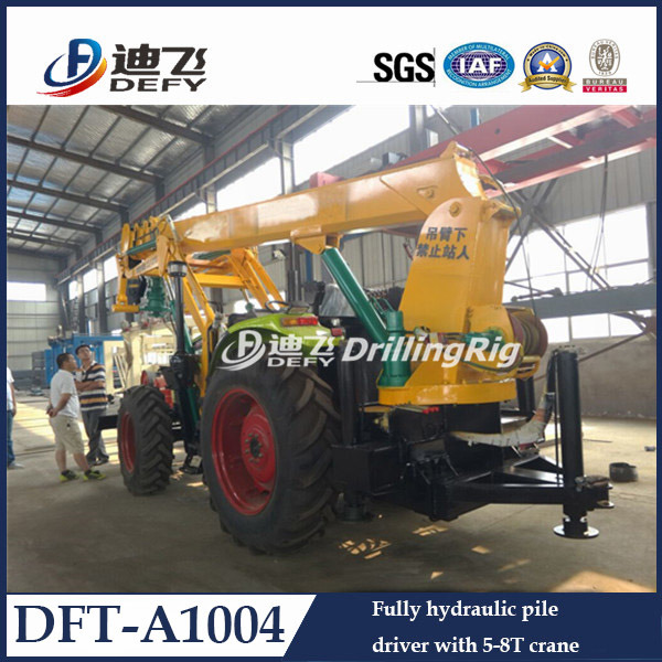 Tractor Mounted Hydraulic Bore Piling Machine for Sale