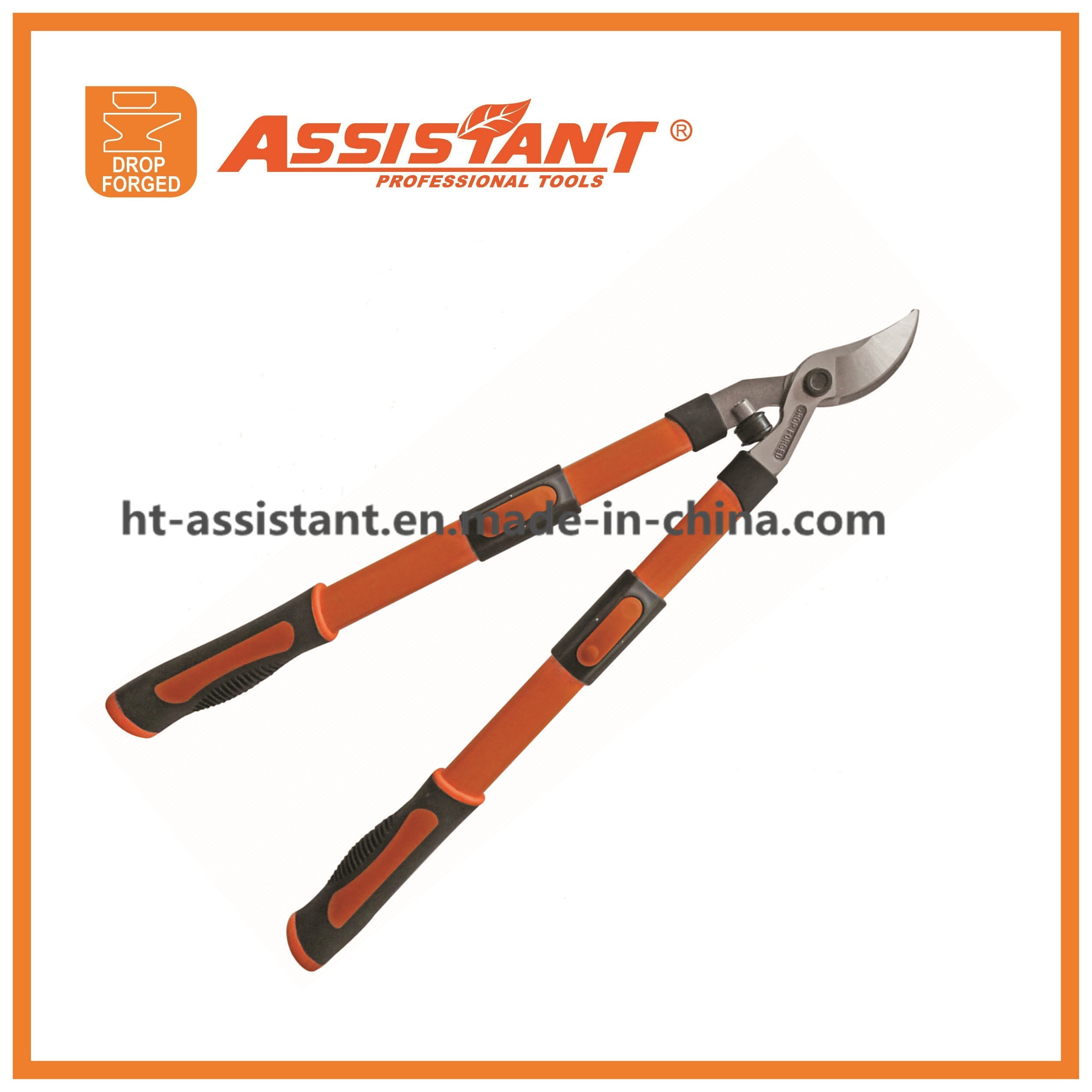 Garden Lopping Shears Drop Forged Bypass Loppers with Replaceable Blade