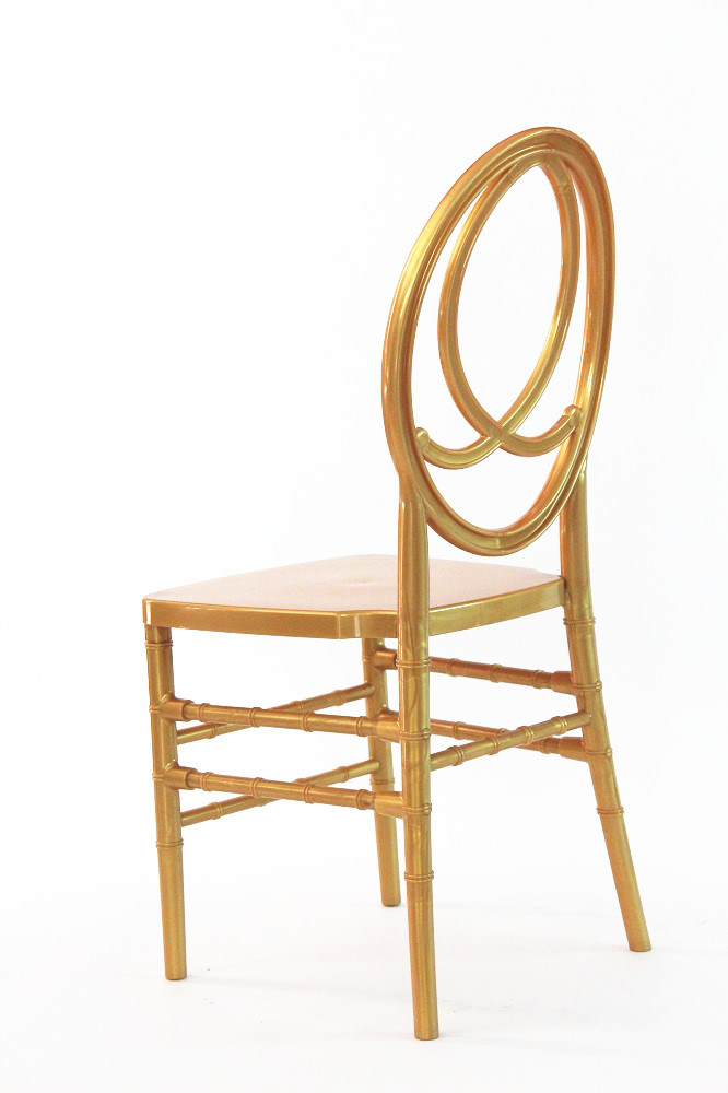 New Design Gold Resin Tiffany Chair Phoenix Chair