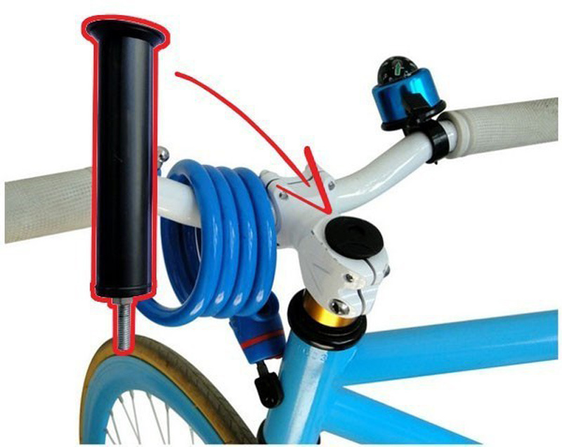 Hidden Bicycle GPS Tracker with Shock Alarms