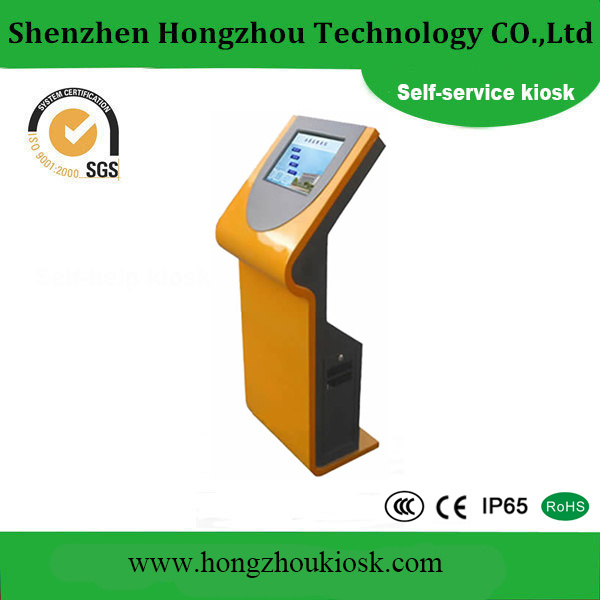 15 Inch Outdoor LCD Display Advertising Kiosk. JPG