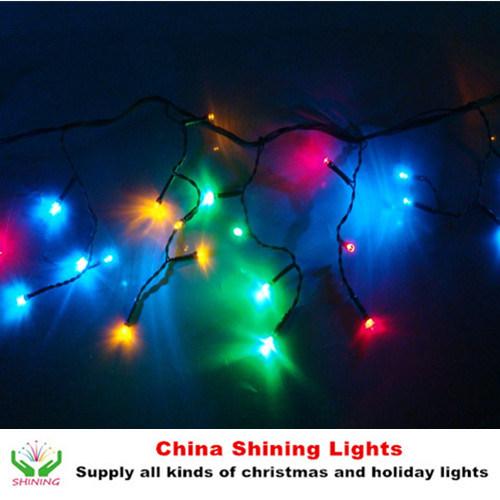 Christmas Holiday Decoration LED Icicle Lights