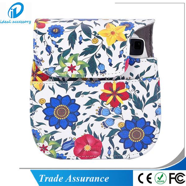 New Release Flower Style Fujifilm Instax Mini Instant Camera Mini8 Case Bag