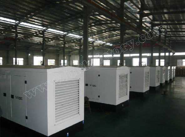 Soundproof Generator Power Cummins (100kVA~250kVA) with CE/Soncap/Ciq Certifications