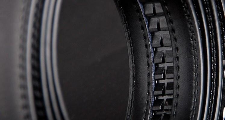 Men Ratchet Leather Belts (A5-140411)