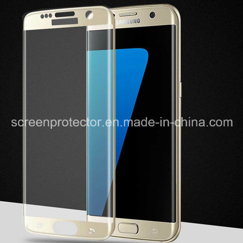 Full Screen 3D Curved 9h Tempered Glass Screen Protector for Samsung Galaxy S7 Edge