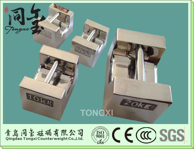 20kgs 304 Stainless Steel F1 Class Orml Standard Calibration Weights