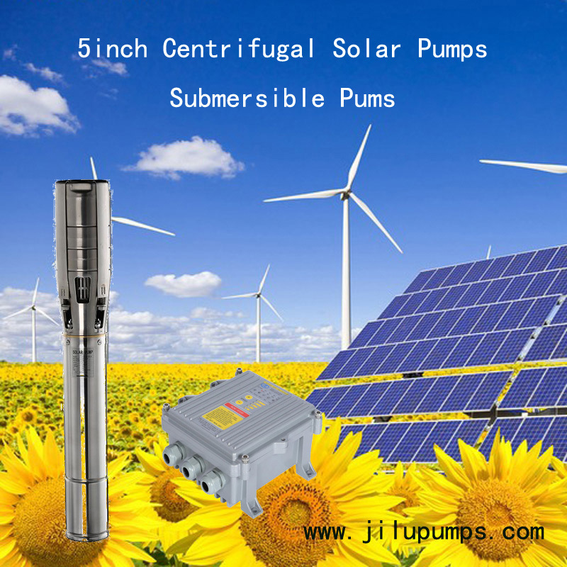 Submersible Stainless Steel Solar DC Pump 5SSC30/15-D72/1000