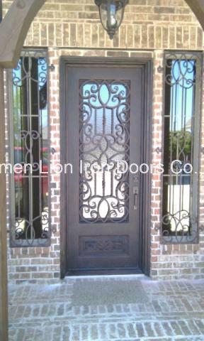 Super Quality Custom Single Iron Door modern Window Design
