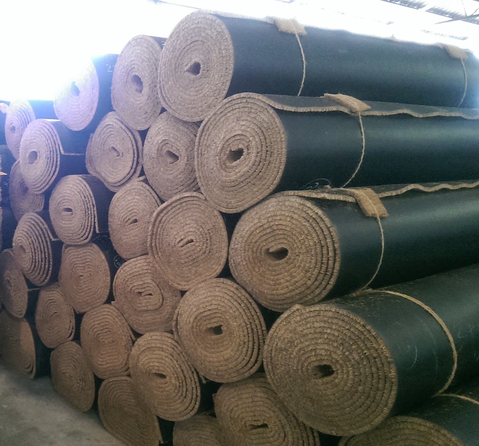 Natural Anti Slip Outdoor Coir Coco Coconut Mat Matting Rolls
