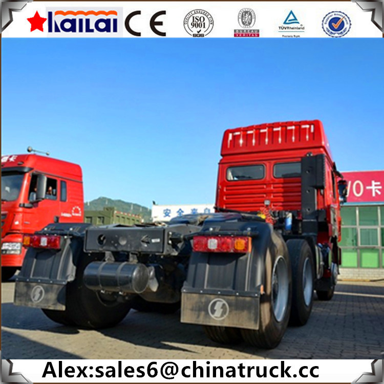 D′long Shacman F3000 Tractor Truck & Trailer Head