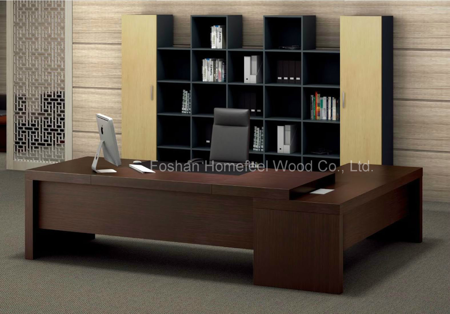 China Durable Structure Modern Design Manager Office Desk