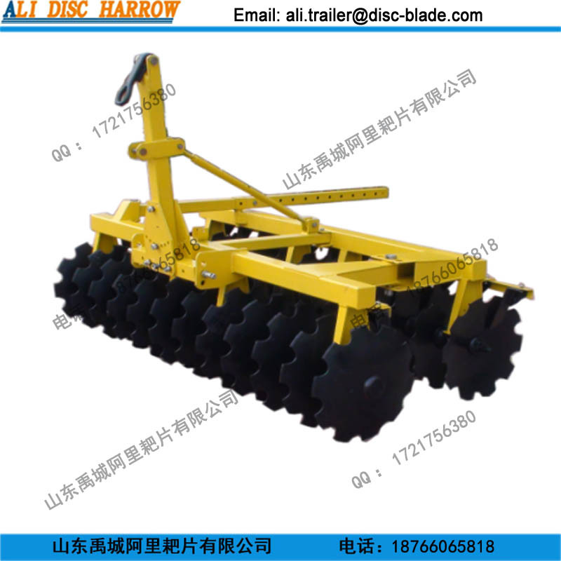 Hing Offset Drag Mounted Middle Duty Disc Harrow