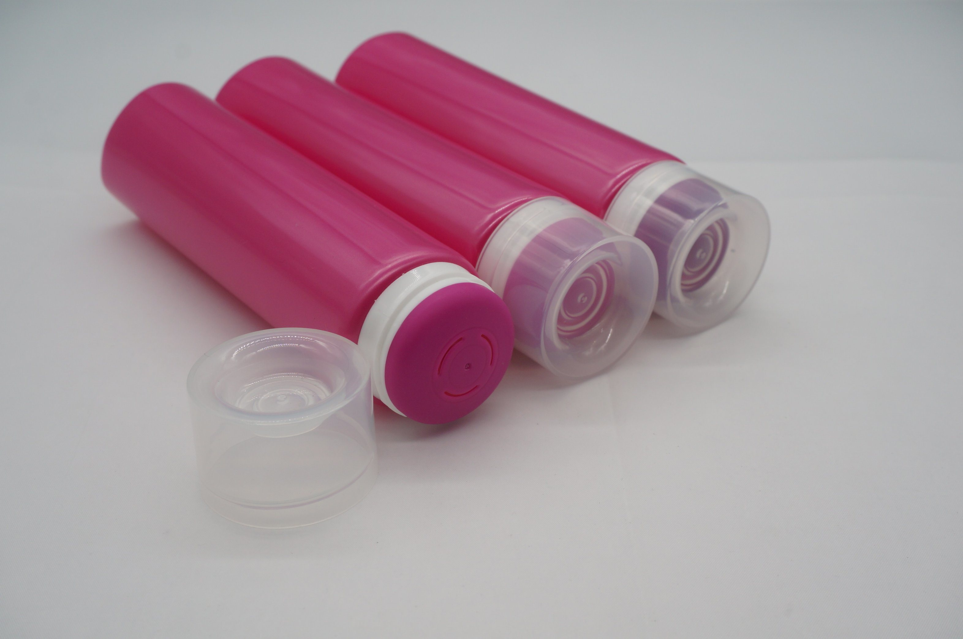 New Design Plastic Cosmetics Tube with Applicator Cap