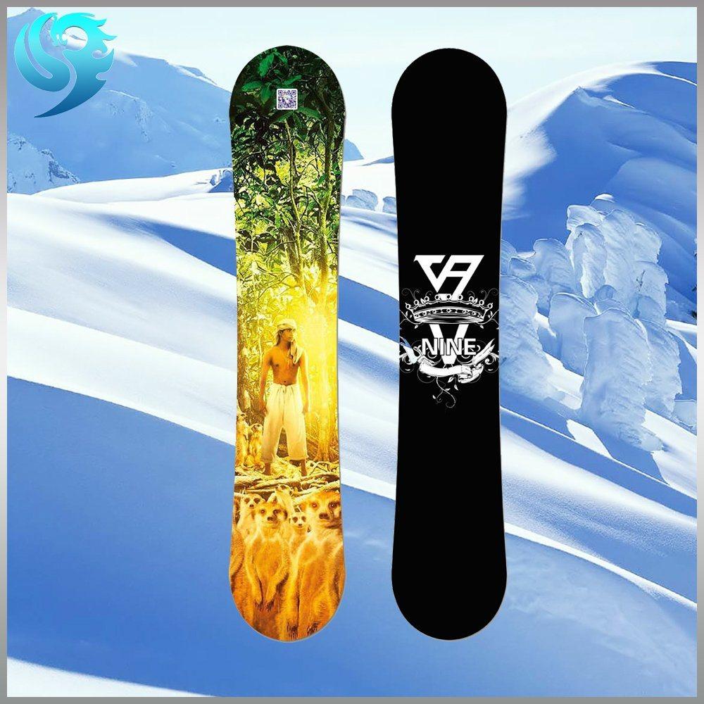 Professional Light Wood Custom Size Design OEM Snowboard