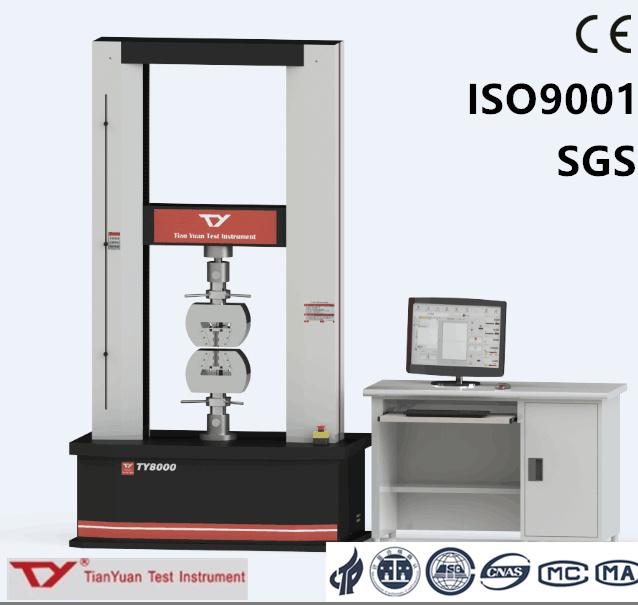 Ty8000 Electronic Universal Testing Machine 300kn Test Equipment