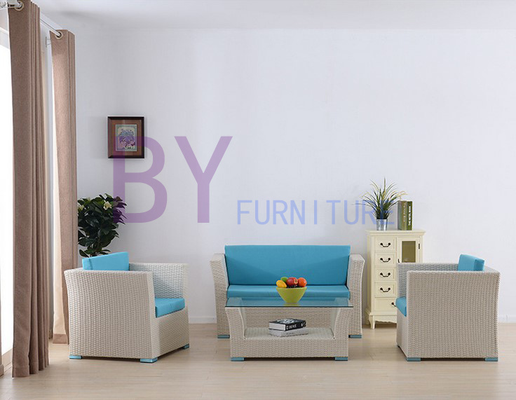 Newly PE Rattan Outdoor Furniture Sofa Set