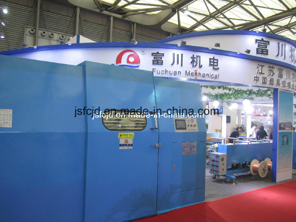 High Productivity Bare Copper Wire Double Twisting Bunching Stranding Machinery (FC-1000B)