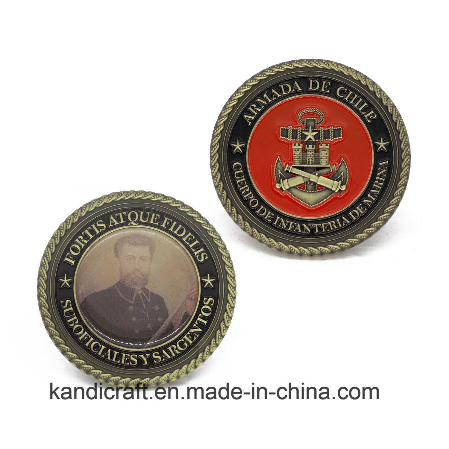 Wholesale Custom Souvenir Gift Custom Metal Coin