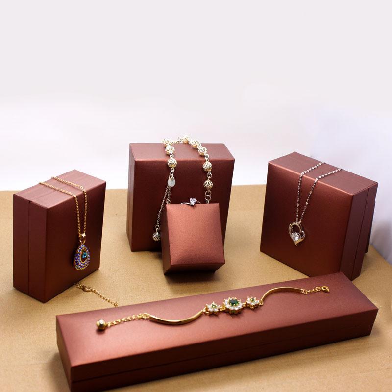 Velvet/Fabrics Paper Earrings/Ring/Bracelet Box/ Gift Packaging Jewelry Box