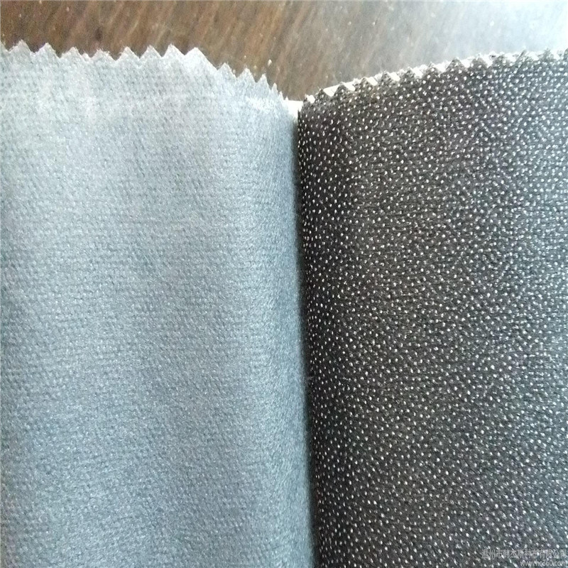 50% Polyester and 50% Nylon Non-Woven Fusible Interlining for Garment
