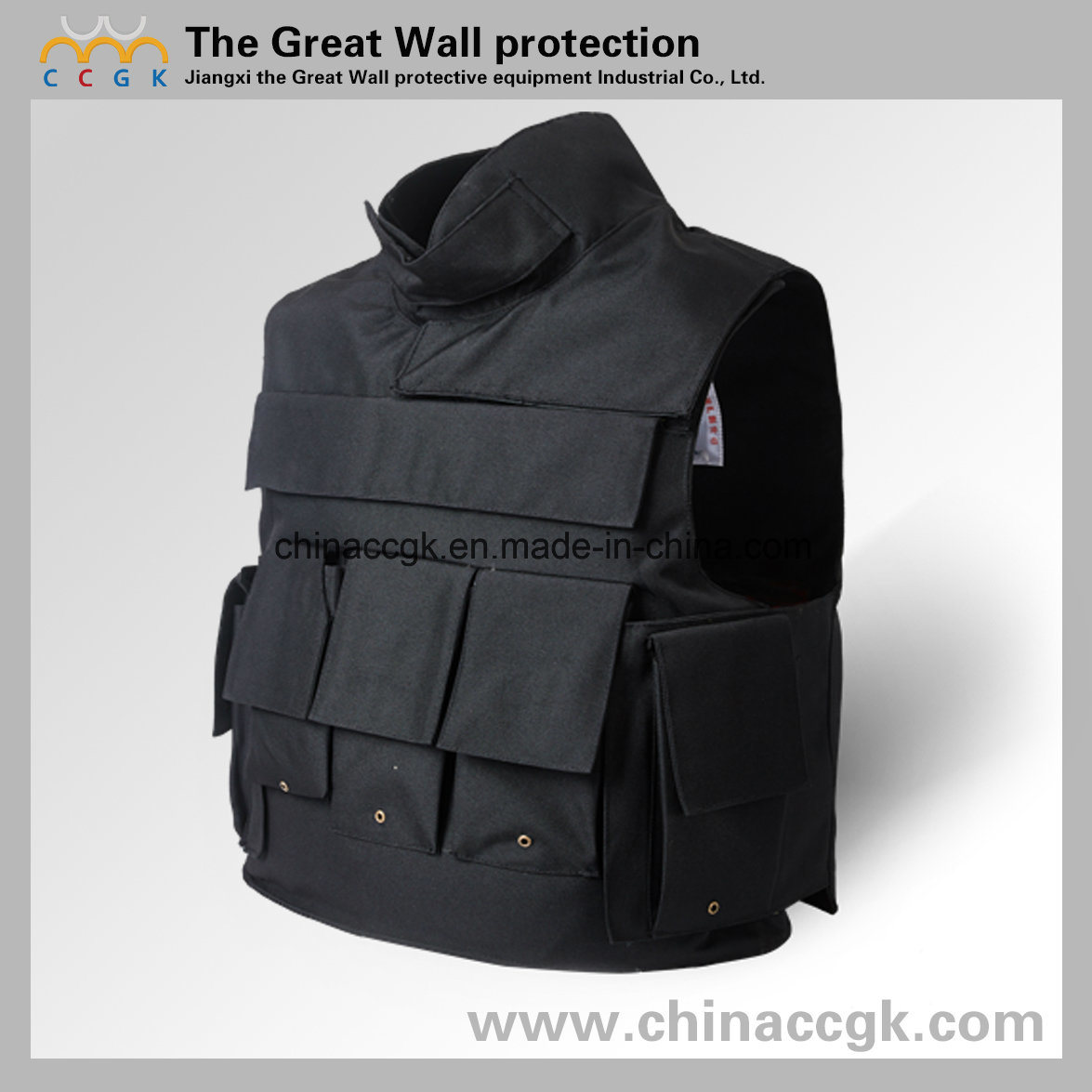 Kevlar / PE Nijiii/IV South Korea with-Collar Bulletproof Vest