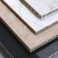 Lightweight Sandstone Veneer Aluminum Honeycomb Panel for Wall Decoration