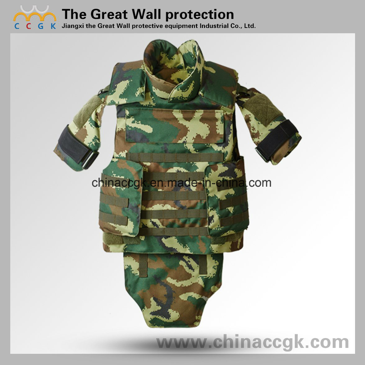 Nijiii/ IV Aramid Armed-Police Camouflage Full Protection Bulletproof Vest