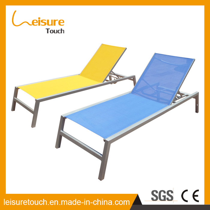High Quality Outdoor Garden Patio Pool Furniture Lounge Chaise Sun Ben Lounger Lying Bed Sunbed Beach Deck Chair