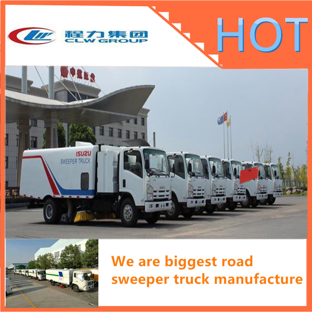 High Pressure Road Sweeper Truck Street cleaning Truck of Good Price
