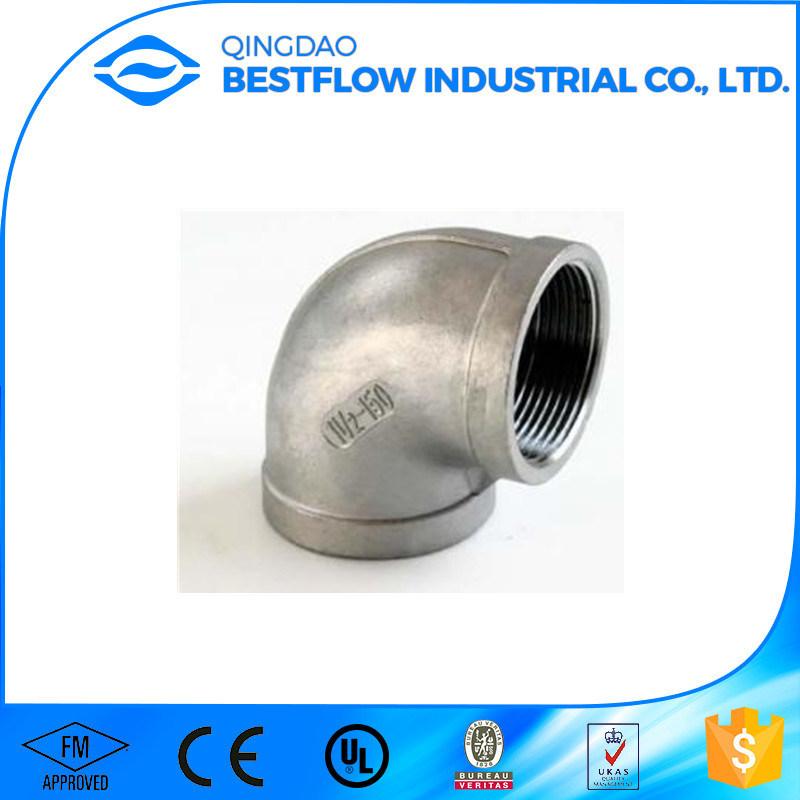Sp-114 150lbs Bsp Stainless Steel Screwed Pipe Fittings - Street Elbow