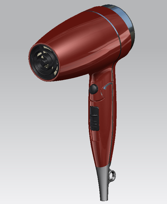 Huipu 2017 Newest Hotel bathroom Cold and Hot Air Top Selling Foldable Hair Dryer