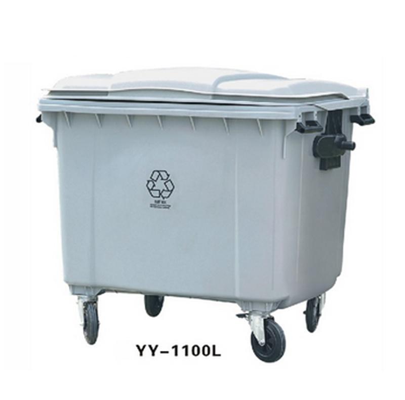 1100L Plastic Trash Bin