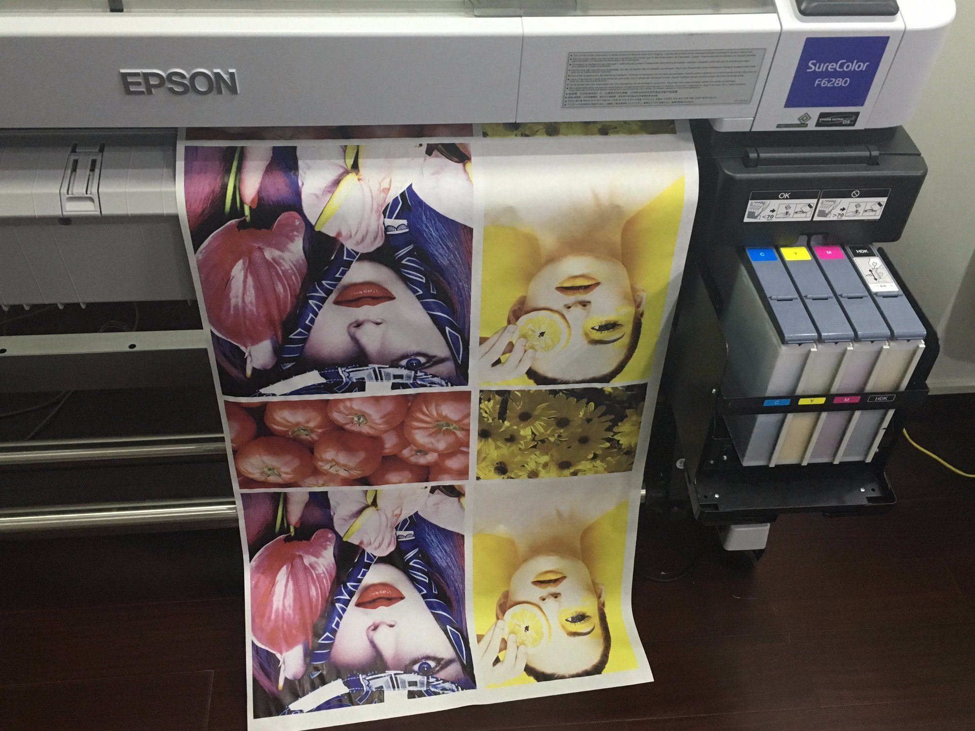 "Skyimage 75g 64"" (1.62m*100m) Hot Sale Heat Transfer Large-Format Sublimation Digital Printing"