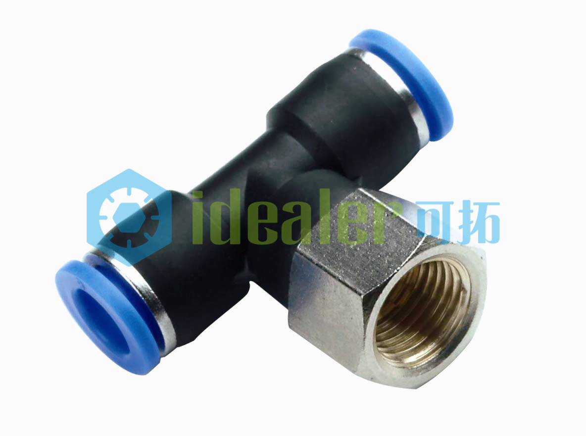 High Quality Pneumatic Fitting with CE (PTF06-G02)