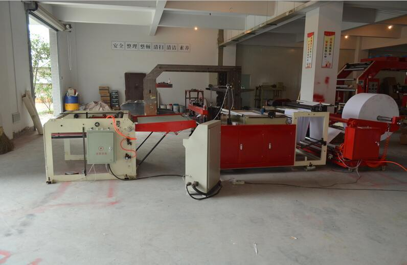 Computer Controled Paper Roll to Sheet Cutting Machine (HQ-600-2000)