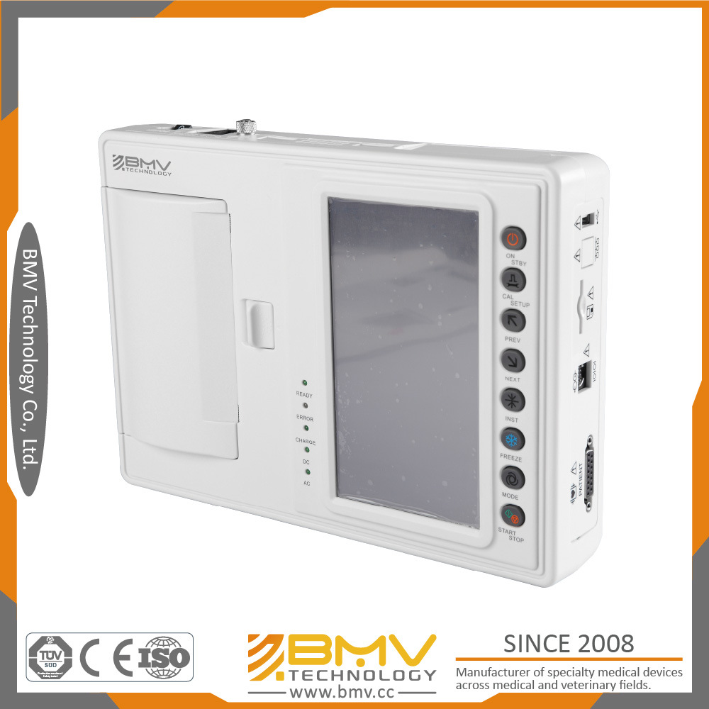 12-Lead Accurate and Stable Diagnostic ECG Machine Bes-607A Medical Product