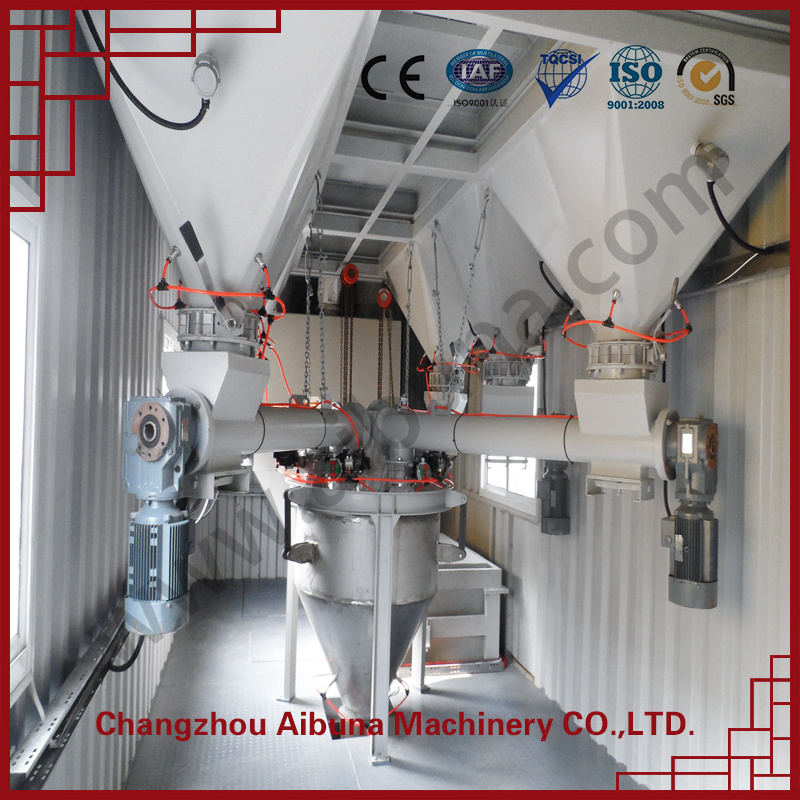 High Grade Special Containerized Dry Mortar Production Line Equipment