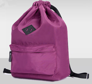 Drawstring Schoo Bag Nylon Travel Bag Simple School Bag