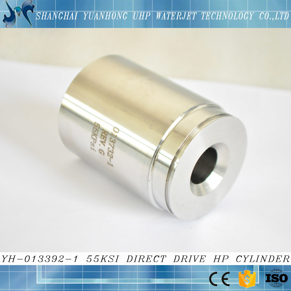 55 Ksi Water Jet Direct Drive Small High Pressure Cylinder for Sale
