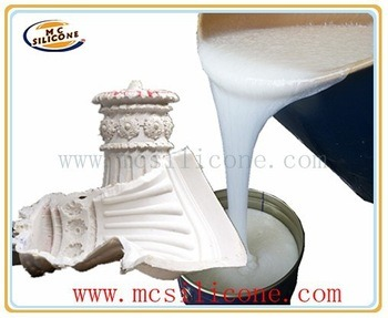 Liquid RTV Silicone Rubber Molds for Concrete