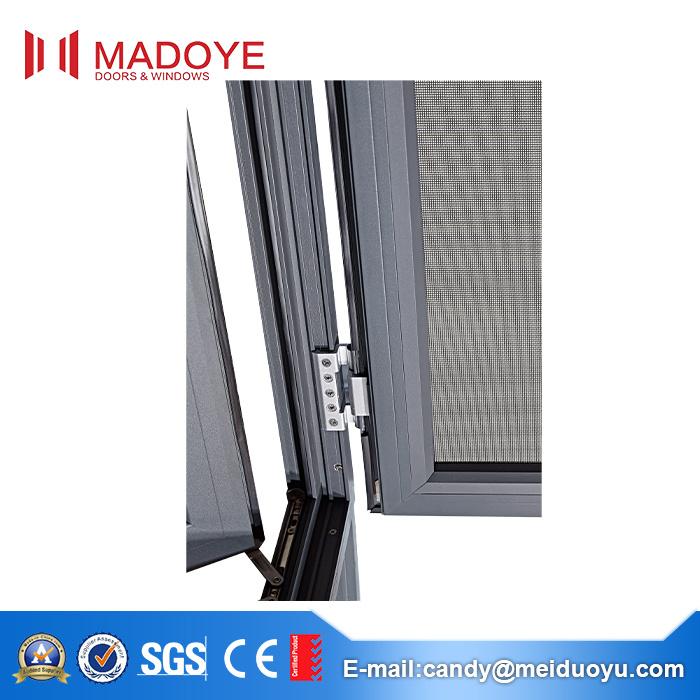 Guangzhou Aluminium Casement Window with Insect Screen