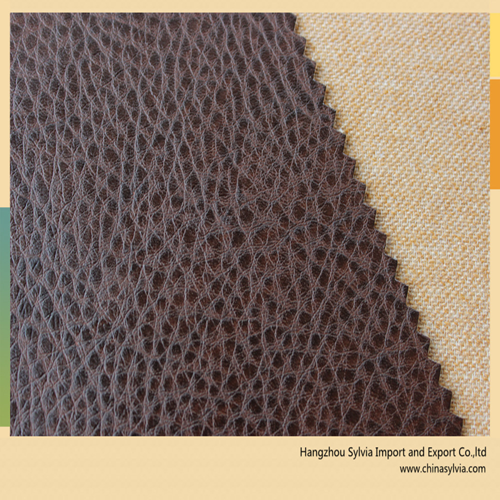 Different Colors Artificial Sofa Leather