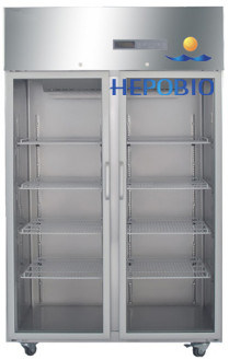 Full Stainless Steel Large Capacity Medical Refrigerator 1000L