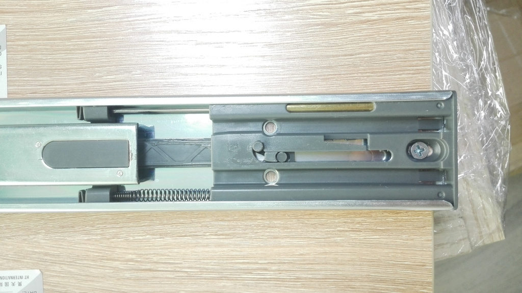 Soft Closing Slides, Copper Damper, 45mm