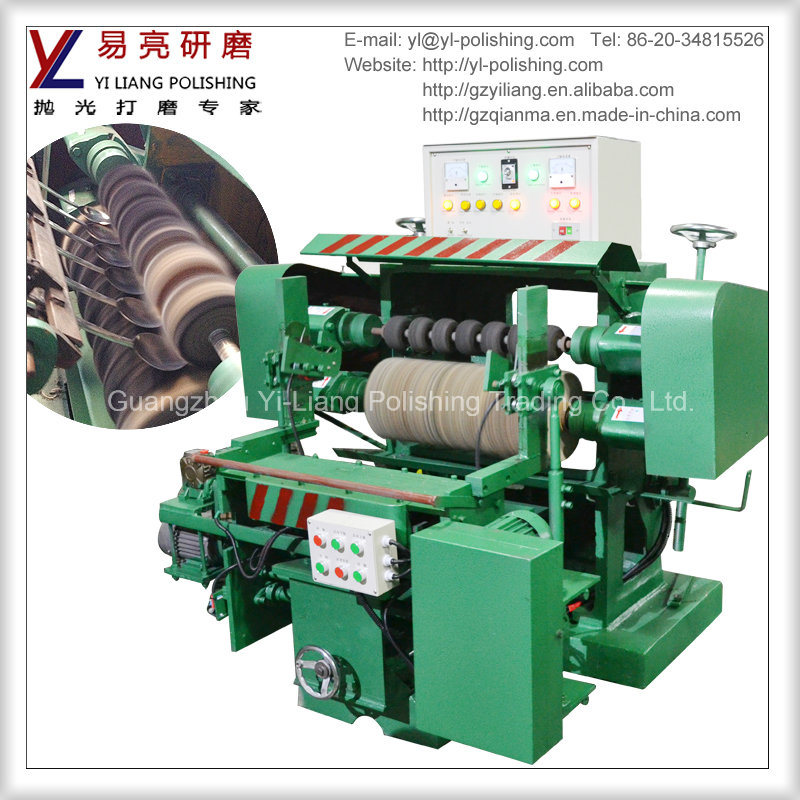 Spoon and Fork Outer and Inner Arc Surface Polishing Machine