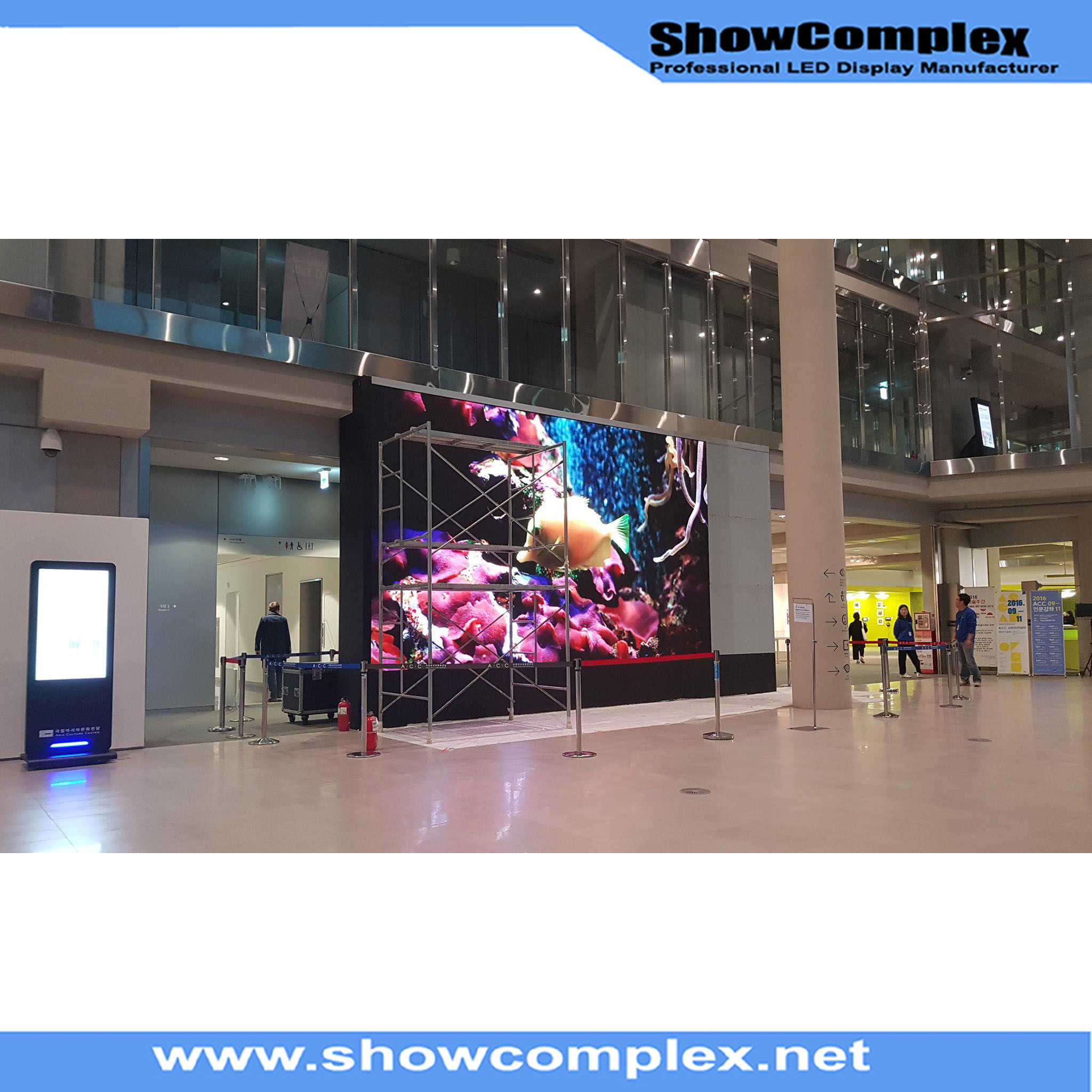 High Contrast Indoor Full Color LED Display (500mm*500mm pH3.91/pH4.81)