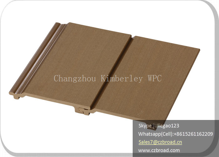 China Easy Installation Environmental Friendly Wood Plastic Composite Wall Panels for Outdoor